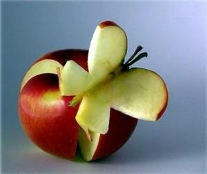 креативное яблоко